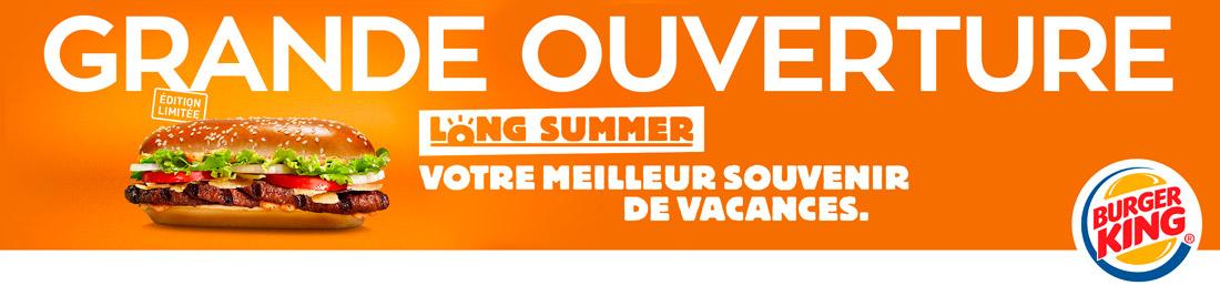 Nouveau Burger King à Saint-Clément-de-Rivière